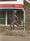 Image for Peter Snell Statue.  Opunake. New Zealand.