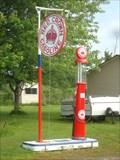 Image for Red Crown Gasoline Pump - Lyndhurst, Ontario