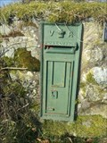 Image for Post Box, Parc, Bala, Gwynedd, Wales, UK