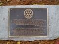 Image for Rotary Plaque dedicated to A. Wayne Burton - Millsboro, DE