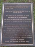 Image for 9/11 Plaque - Danville, KY