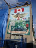 Image for Royal Canadian Legion Branch # 126, Preston Ontario, Remembrance Mural