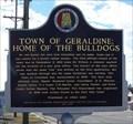 Image for Town of Geraldine: Home of the Bulldogs - Geraldine, AL