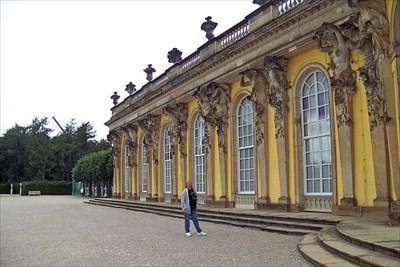 Judy at Sanssouci