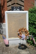 Image for Vietnam War Memorial  -  City Hall  -  New Bedford, MA