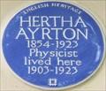 Image for Hertha Ayrton - Norfolk Square, London, UK