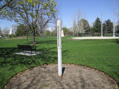 Peace Pole International Peace Gardens - Salt Lake City, Utah ...