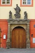 Image for Renaissance portal of Modletice house/Renesancní portál Modletického domu ve Slaném, (Central Bohemia) Cz