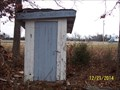 Image for Outhouse at Downey Church - Mount Pleasant Twsp, Lawrence Co, MO