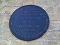Image for Burwell Lock Up  - Blue Plaque - Cambridgeshire