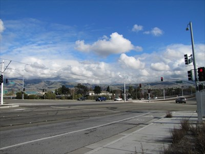 Looking NE towards Great Mall Parkway, Milpitas, CA