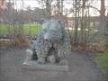 Image for Bjørneskulptur, slotshaven Gammel Estrup - Denmark