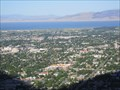 "Image for Utah Valley from ""Y"" Mountain - Provo, Utah"