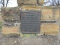 Image for Czech Pioneers Memorial Flagpole -- Wilson KS