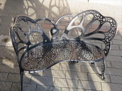 Butterfly Bench Seat, Redmond, Washington