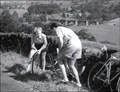 Image for B6160, Burnsall, N Yorks, UK – A Boy, A Girl, And A Bike (1949)