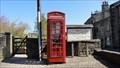 Image for Main Street red telephone box – Addingham, UK
