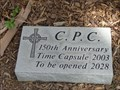 Image for Central Presbyterian Church Time Capsule - Waxahachie, TX
