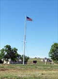 Image for Ft Laramie Flag Pole - Ft. Laramie, WY