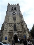 Image for Abbey Church Tower - Waltham Abbey, Essex, UK