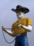 Image for Topps Western World Muffler Man - Bossier City, Louisiana
