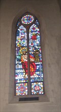 Image for St Leander's Church stained glass window - San Leandro, CA