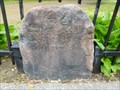 Image for Franklin Mile Marker - 47 Miles From Boston 50 to Springfield - 1767 Milestones - Worcester, MA