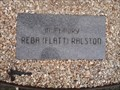 Image for Reba (Flatt) Ralston - Veterans Wall of Honor - Bella Vista AR