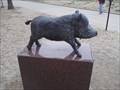 Image for U of A Campus Razorback Mascot #2 - Fayetteville AR