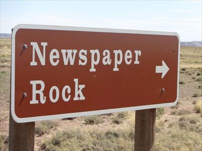 veritas vita visited Newspaper Rock