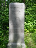 Image for New York / Pennsylvania 1884 SW Boundary Marker Offset 100ft. N