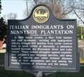 Image for Italian Immigrants On Sunnyside Plantation - Lake Village, Arkansas