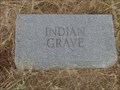 "Image for ""Indian Grave"" - Cogburn Cemetery - Cooke County, TX"