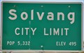 Image for Solvang, California ~ Elevation 495 Feet