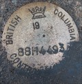 Image for BC Control Survey Marker 88H4493