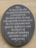 Image for J.J. Thomson Plaque - Cavendish Laboratory, Free School Lane, Cambridge, UK