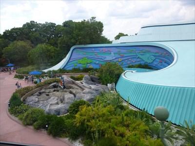 Lord Abercrombie visited The Living Seas Aquarium - Epcot, Disney World, FL