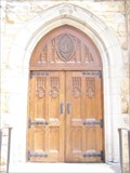 Image for All Saints Chapel Door - Sewanee, TN