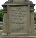 Image for Laurence Binyon – Combined World War I and II memorial – Low Moor, UK