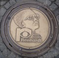 Image for 'Reinhardt' Manhole Cover Marktplatz Reutlingen, Germany, BW