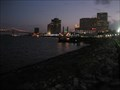 Image for New Orleans and Crescent Bridge from the Riverwalk at Jackson Square