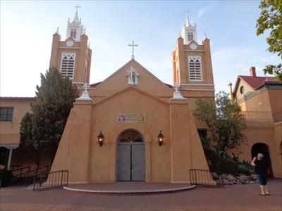 San Felipe de Neri Church - Route 66 - Old Town.