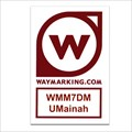 Image for UMainah Sticker and Pin - WMM7DM