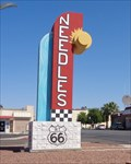 Image for Needles Route 66 Sign ~ Satellite Oddity ~ California, USA.