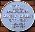 Image for Benny Green - Cleveland Street, London, UK