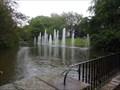 Image for Springbrunnen im Stadtpark Bochum, NRW, Germany