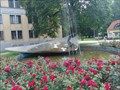 Image for Woman in fountain - Trencin, Slovakia