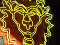 Image for Lions Head - Artistic Neon - Orlando, Florida, USA.