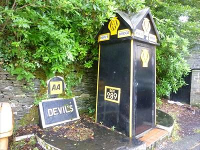 AA Hut, Hafod Hotel, Devils Bridge, Ceredigion, Wales, UK