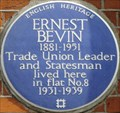 Image for Ernest Bevin - South Molton Street, London, UK